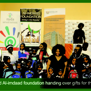 Dimbaza community benefit in honouring of the Mandela legacy
